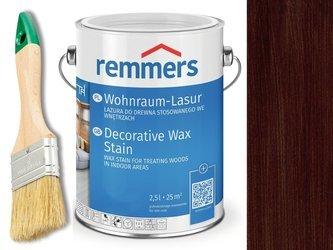 Lazura woskowa Remmers do wnętrz 2,5 L MOCCA