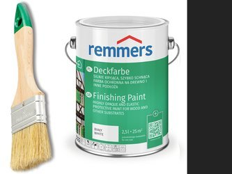 Remmers Farba do drzwi mebli ocynk CZARNY 2,5 L