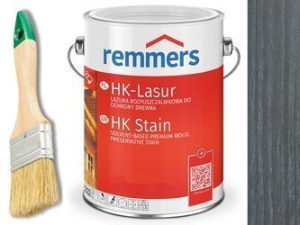Remmers HK-Lasur impregnat do drewna 20L GRAFIT