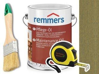 Remmers Pflege-Ol olej do tarasu ZIELEŃ SOLNA 2,5L