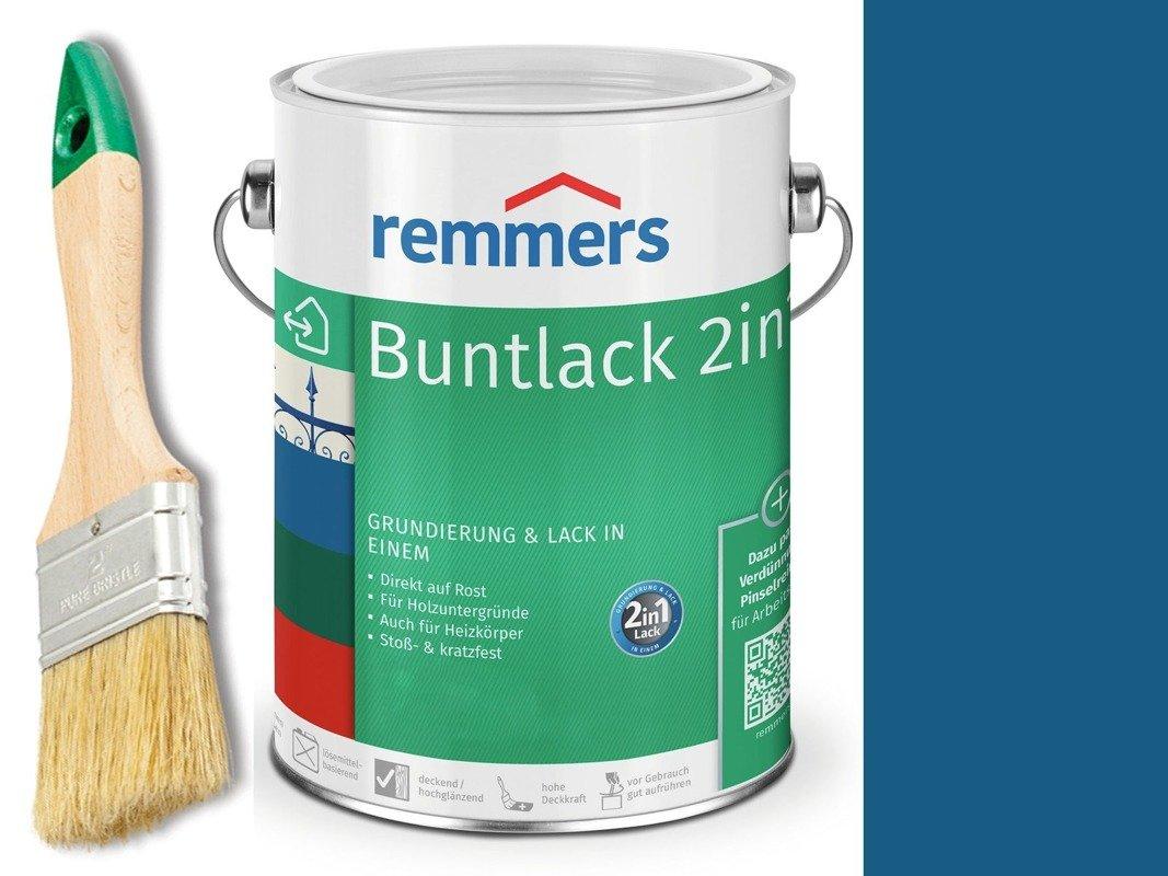 Farba renowacja grzejnik Remmers NIEBIESKA 0,375
