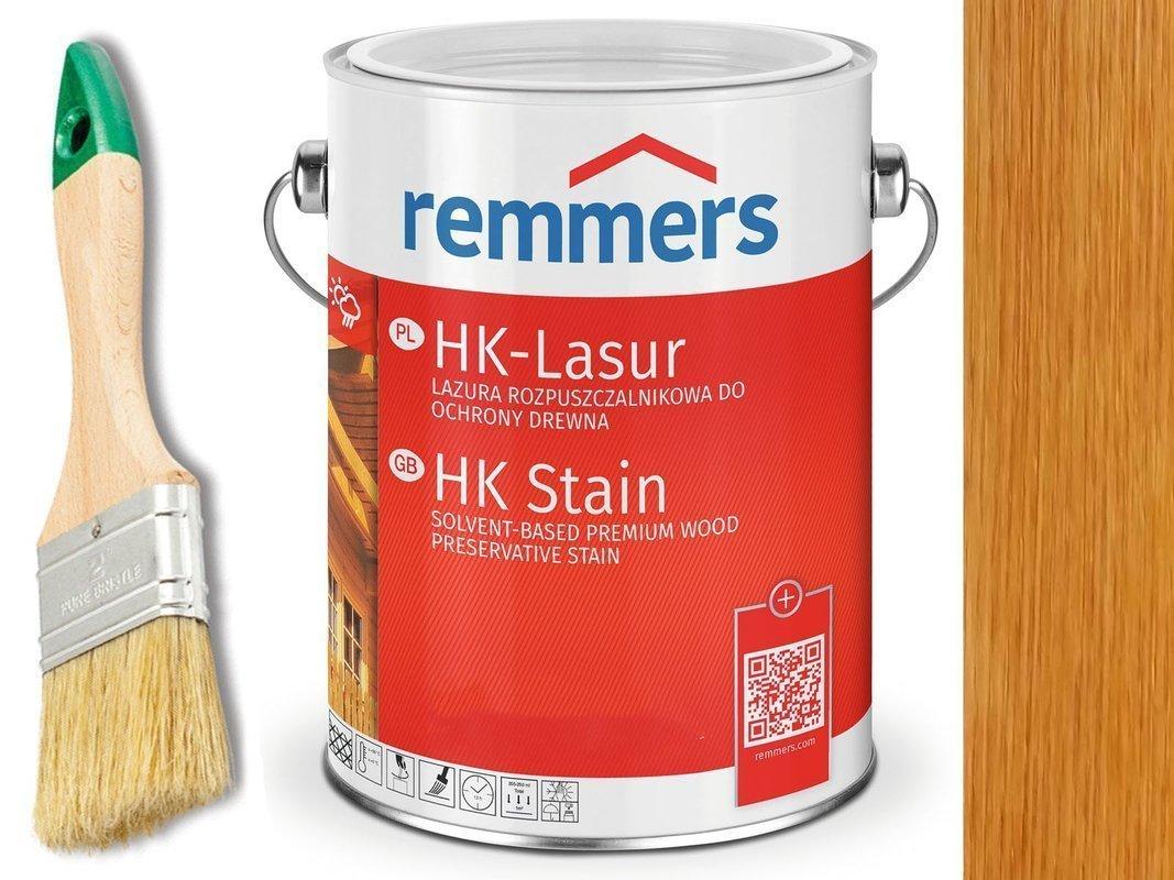 Remmers HK-Lasur impregnat do drewna 10L TEAK
