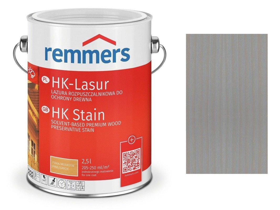 Remmers HK-Lasur impregnat do drewna 2,5L ANTRACYT