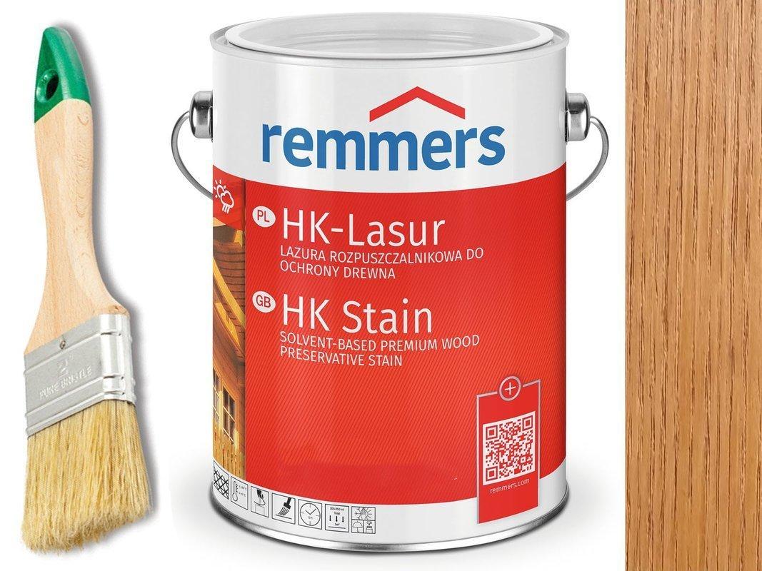 Remmers HK-Lasur impregnat do drewna 2,5L DĄB AZJA