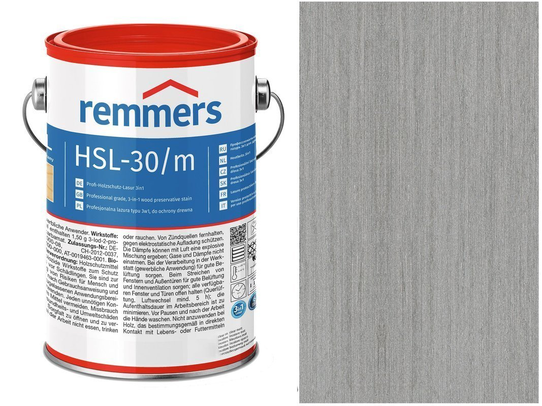 Remmers HSL-30 Profi HK-Lasur Platynowy 10L