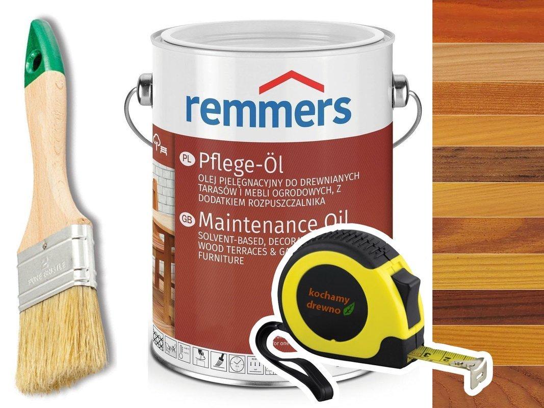 Remmers Pflege-Ol olej do drewna tarasu KOLORY 2,5