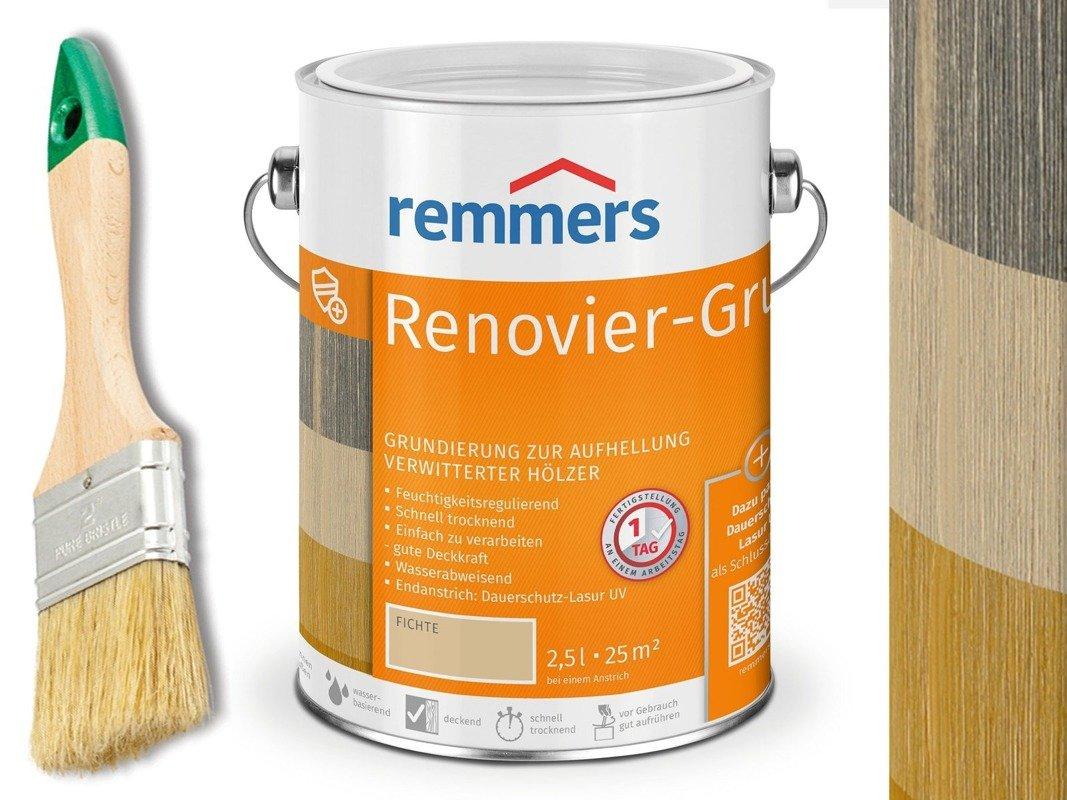 Remmers Renovier-Grund 1504 0,75L zwietrzałe drewn